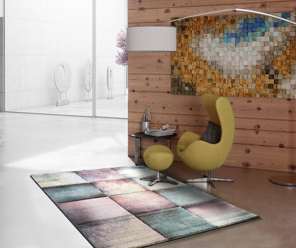 Covor Pinky Squares 60x120 Cm