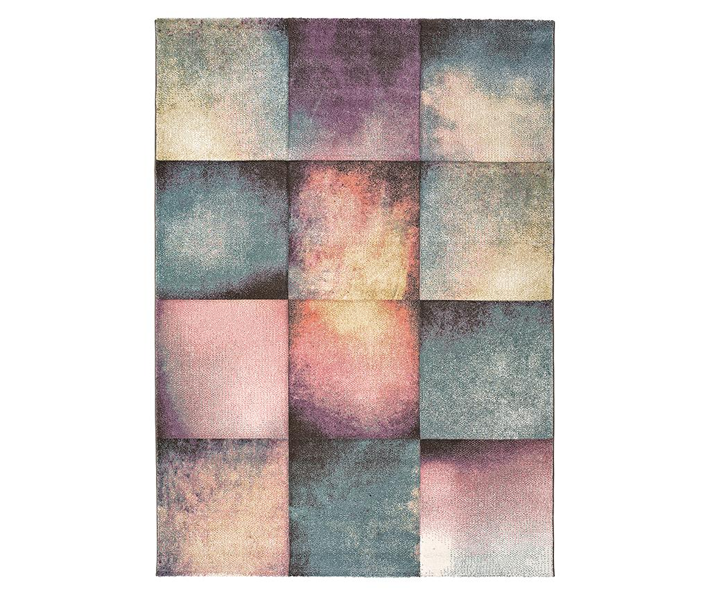 Covor Pinky Squares 80x150 cm - Universal XXI, Multicolor imagine