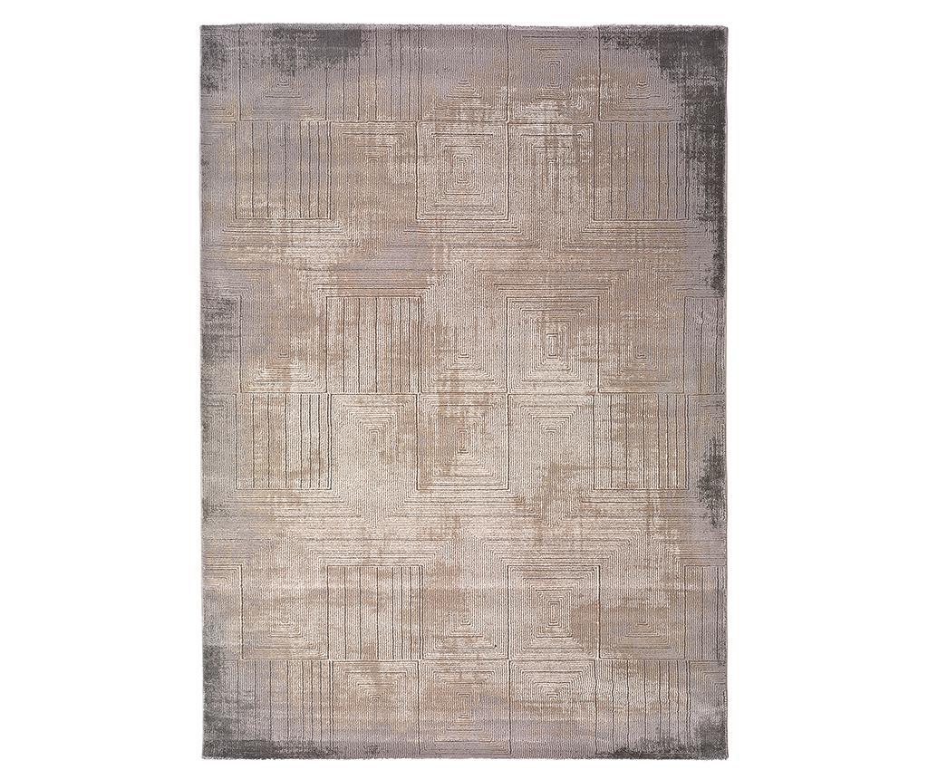 Covor Seti Shapes Grey 60x120 cm - Universal XXI, Gri & Argintiu imagine