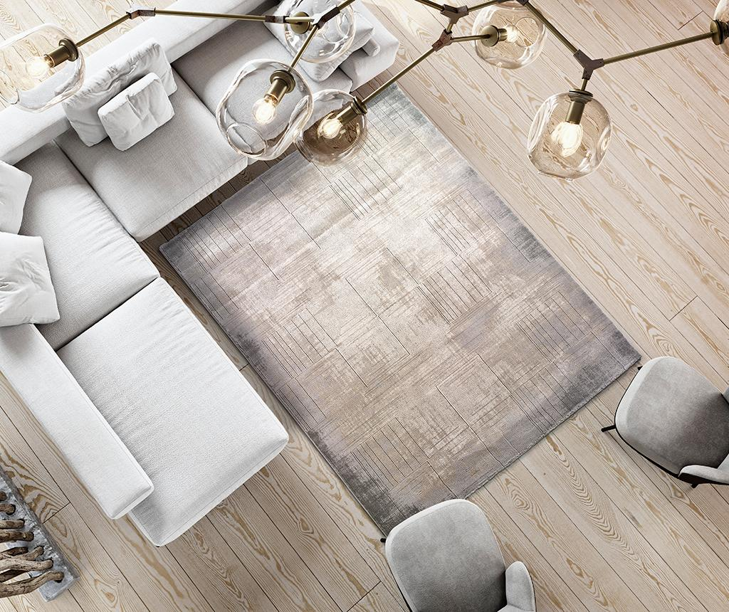 Covor Seti Shapes Grey 200x290 cm vivre.ro