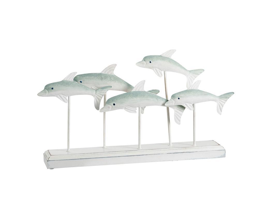 Decoratiune Dolphins - J-line imagine
