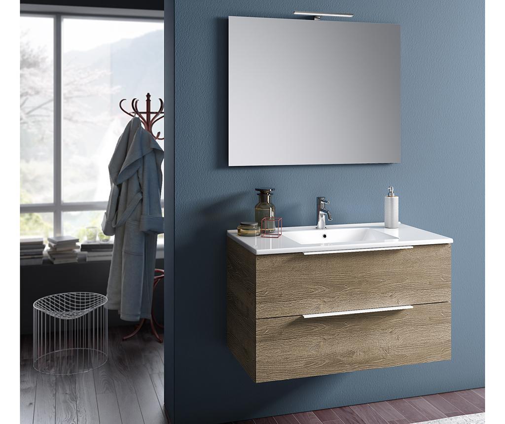 Set mobilier pentru baie 4 piese Luna Misy Honey imagine