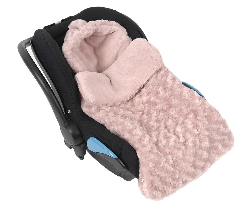 Sac de dormit Little Roses Pink 0-6 luni - Amadeus les Petits, Roz imagine