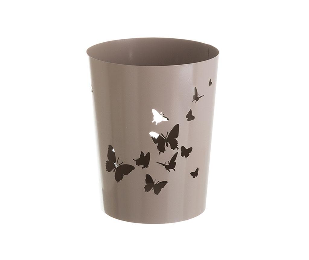 Cos de gunoi Butterflies Beige imagine