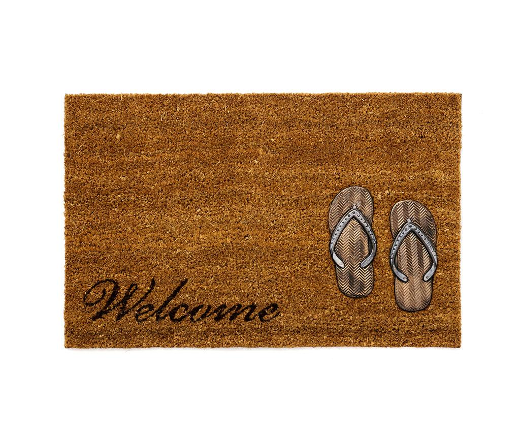 Covoras de intrare Welcome Flops 40x60 cm imagine