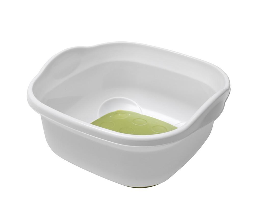 Bol pentru spalat vase Soft Touch White Green