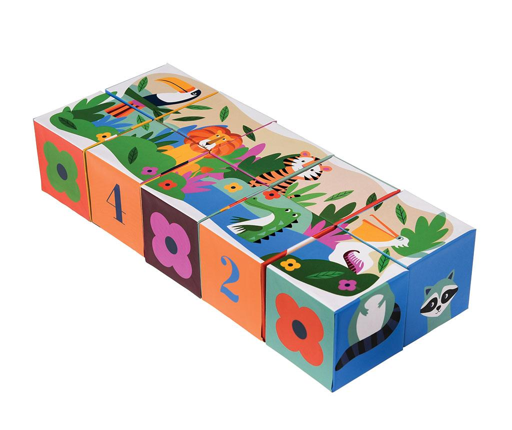 Joc tip puzzle Colourful Creatures