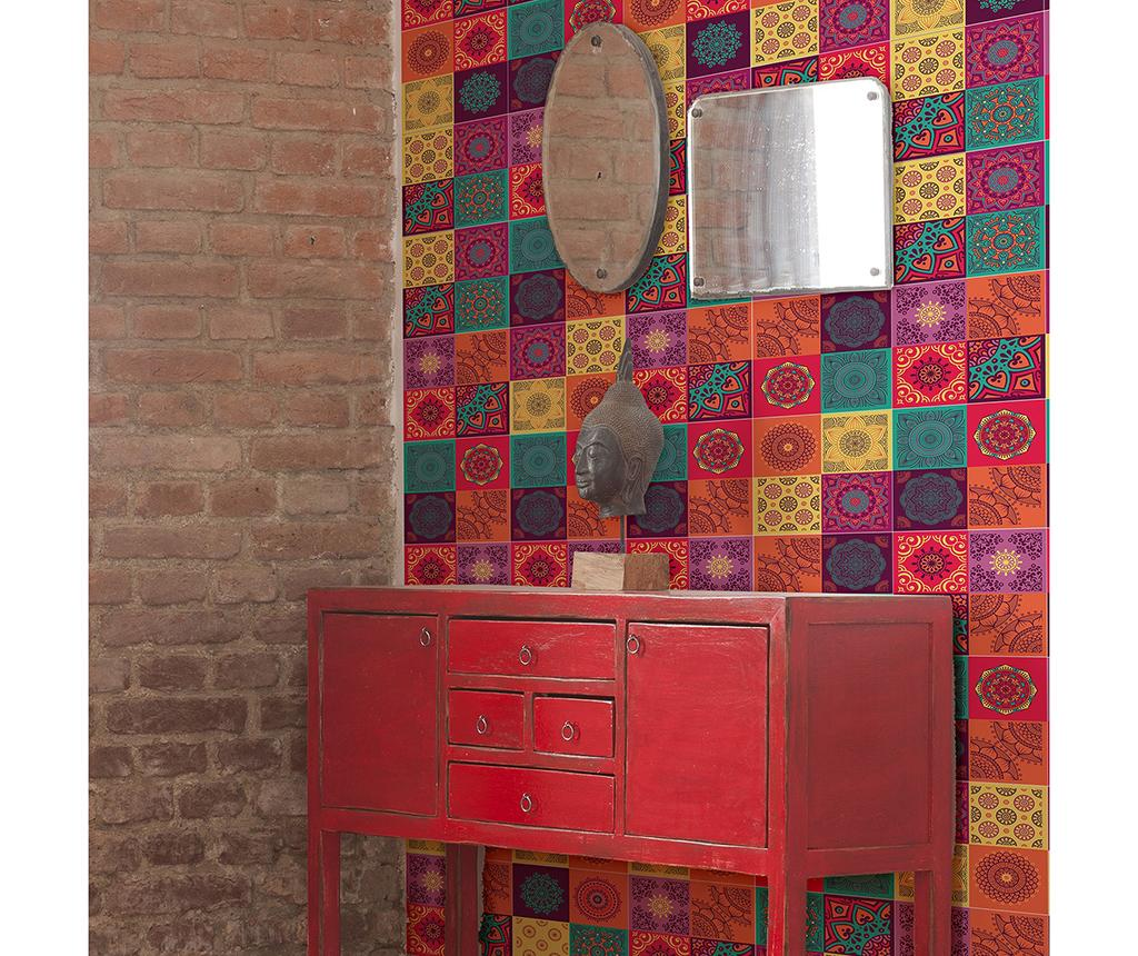 Set 12 stickere Colourful Mandala imagine