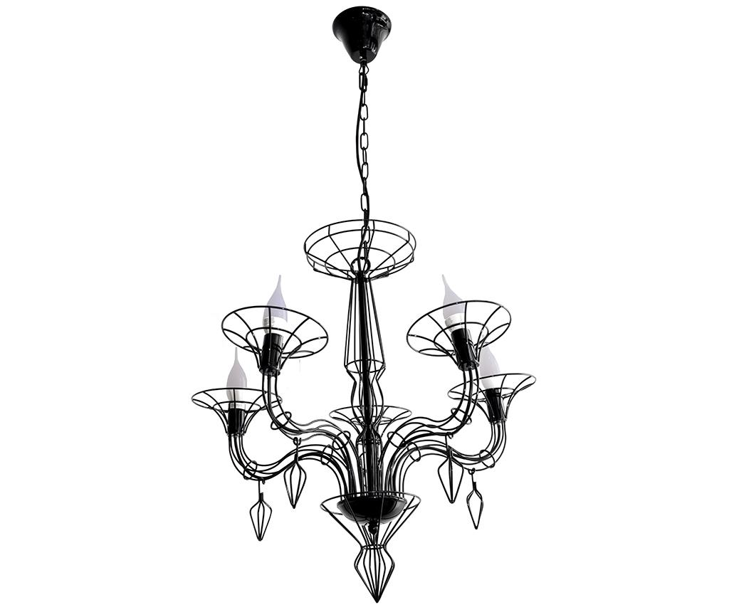 Candelabru Flame Black imagine
