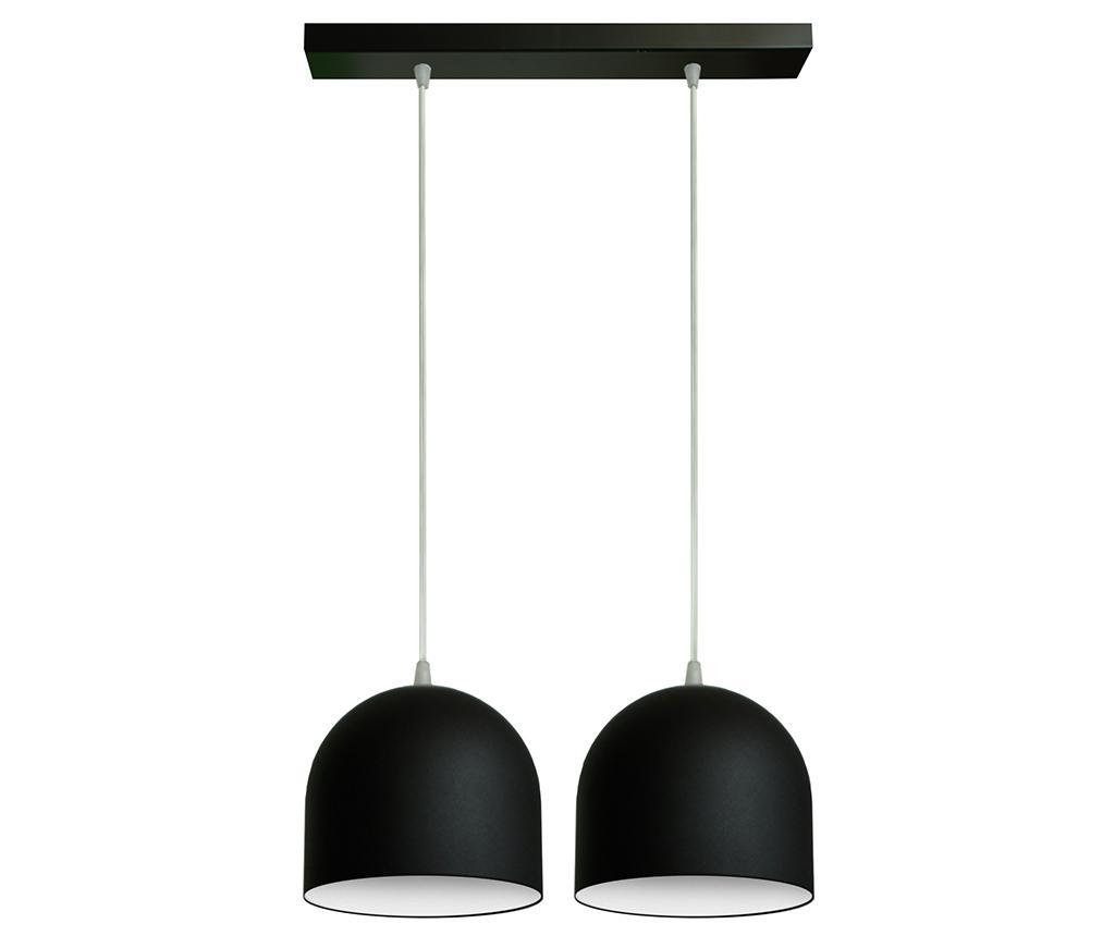 Závěsná lampa Madison Wide Two Black White