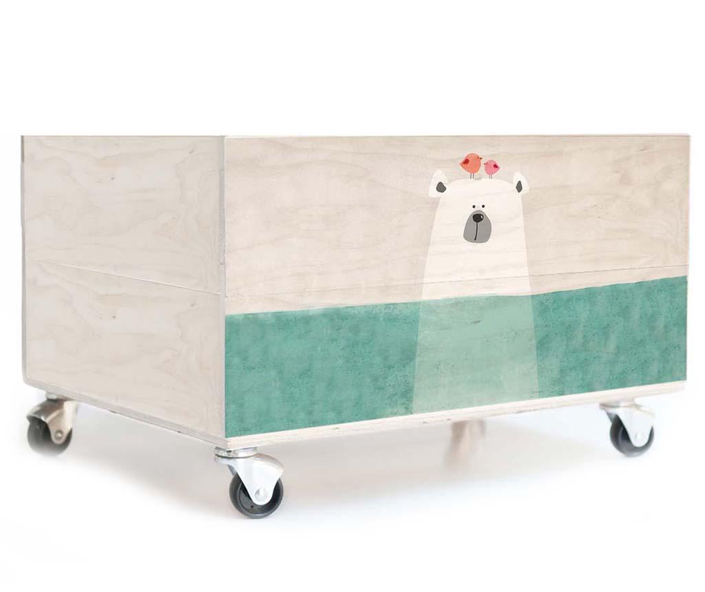 Cutie pentru jucarii Polar Bear - Surdic, Alb