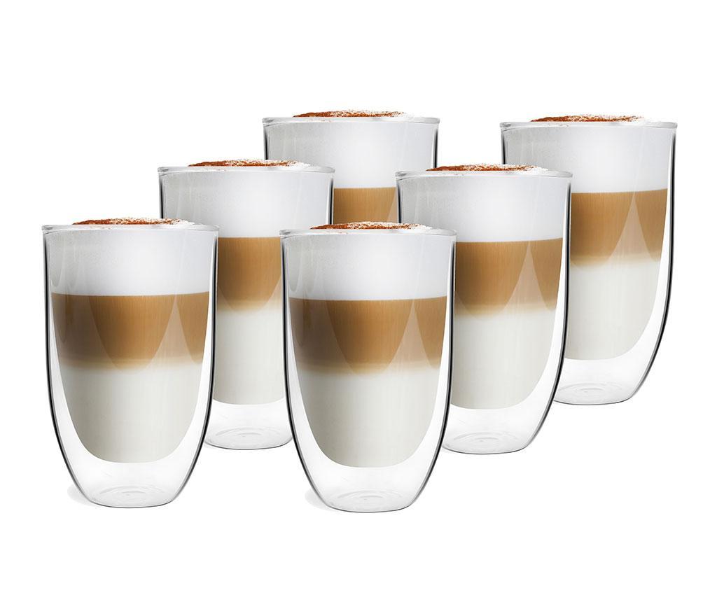 Set 6 pahare Preston 350 ml imagine