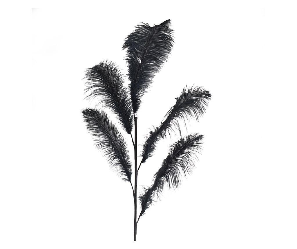 Decoratiune Feather Black imagine