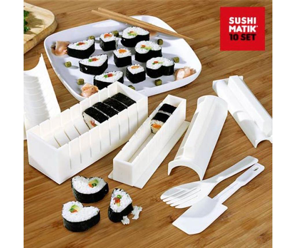 Set 3 forme si accesorii pentru sushi Matik