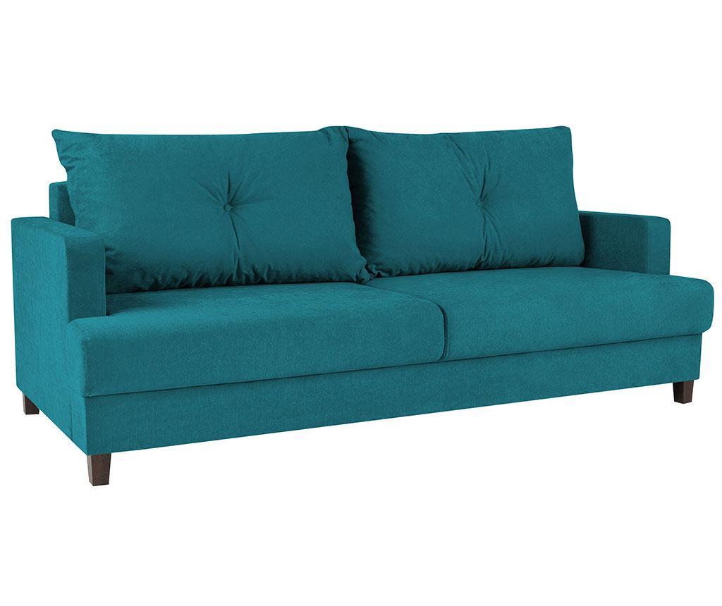 Canapea Extensibila 3 Locuri Lorenzo Turquoise