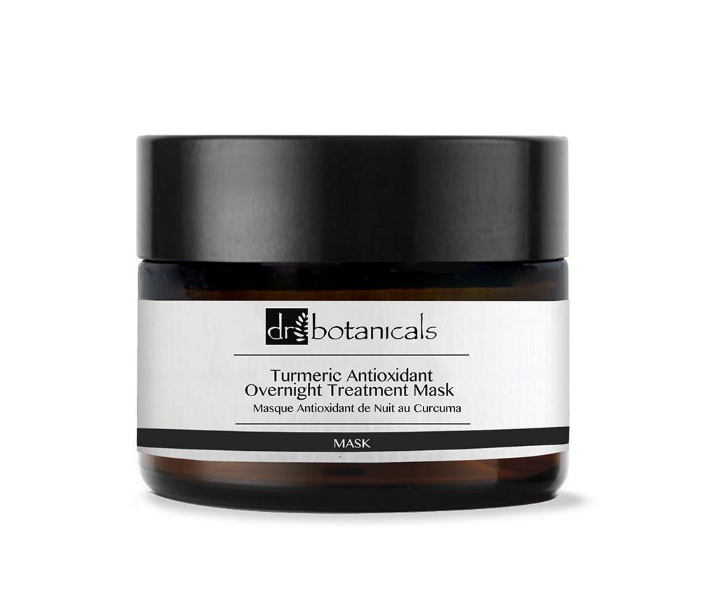 Masca de noapte pentru fata Turmeric Antioxidant 50 ml - Dr Botanicals, Alb poza