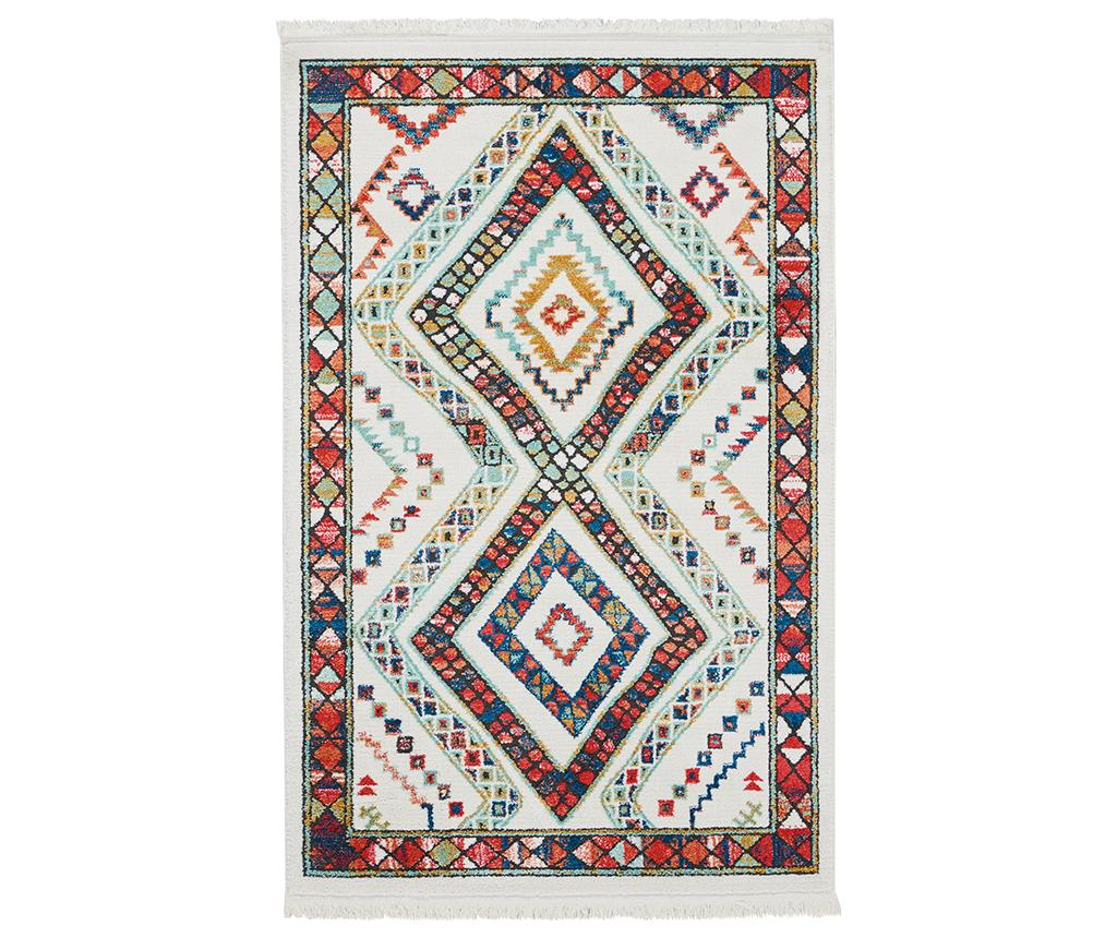 Covor Navajo White 201x292 cm - Nourison, Alb imagine