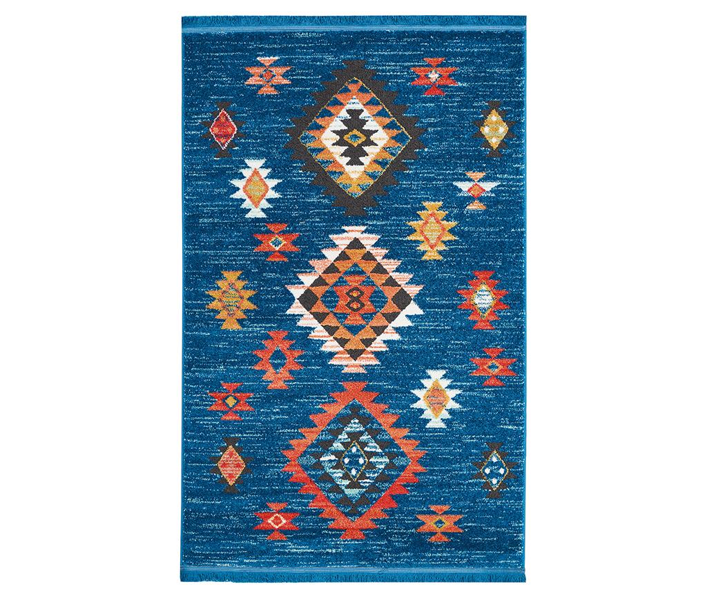 Covor Navajo Blue 119x188 cm - Nourison, Albastru imagine
