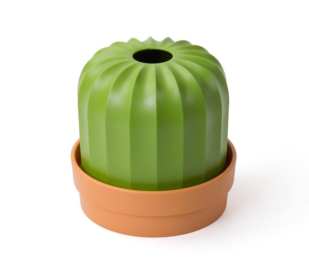 Suport pentru servetele Cactiss Orange Green - Qualy, Portocaliu
