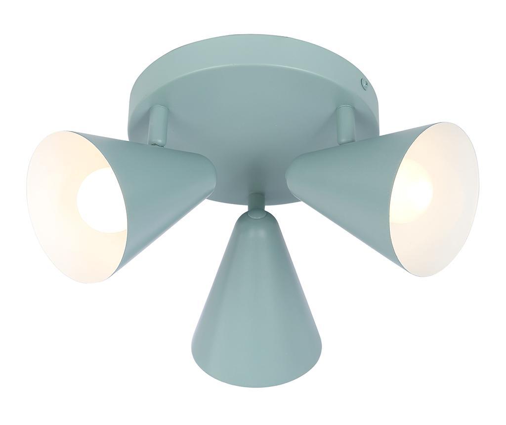Plafoniera Sary Three - Candellux Lighting, Albastru imagine