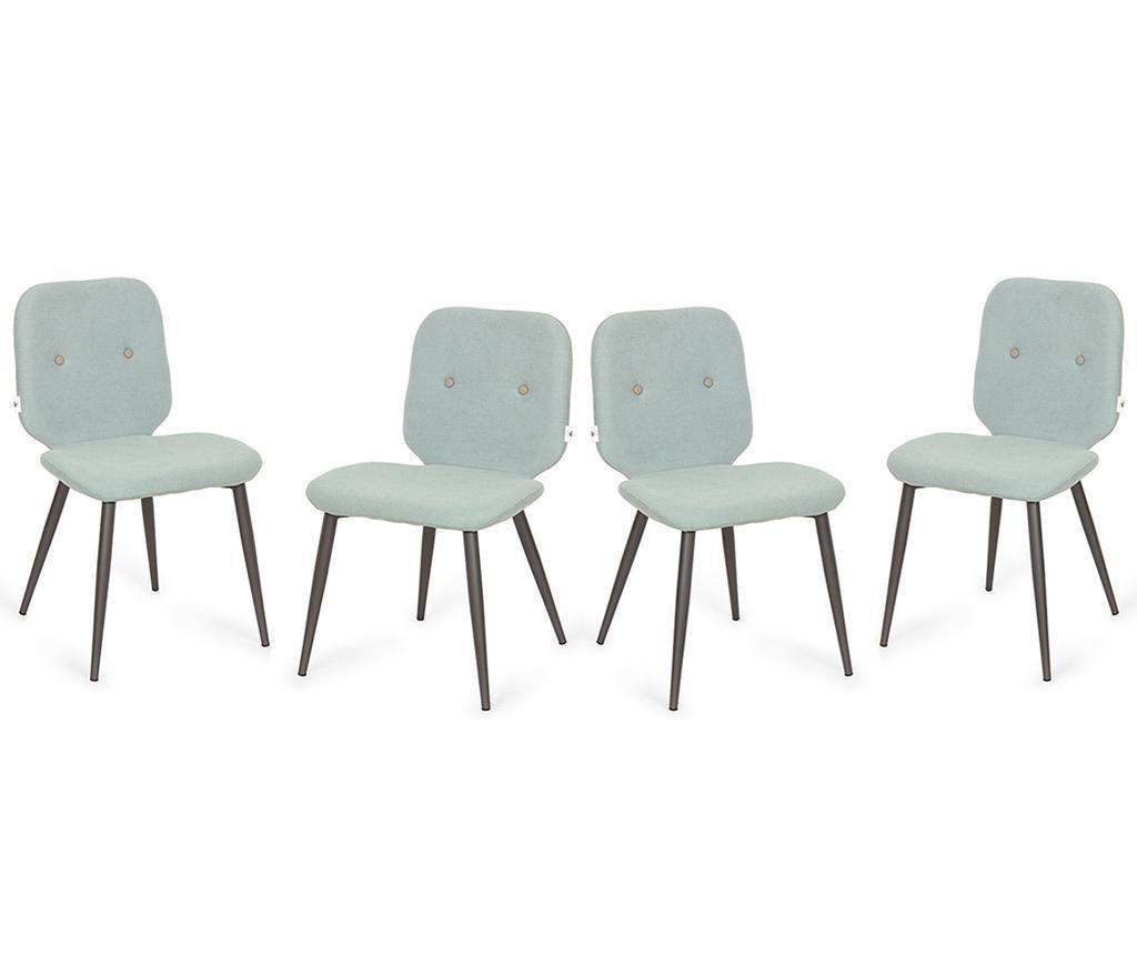 Set 4 scaune Tabou Mint vivre.ro
