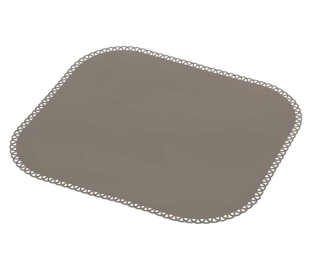 Suport farfurie Maid Grey Dark 35x40 cm - Vigar, Gri & Argintiu imagine