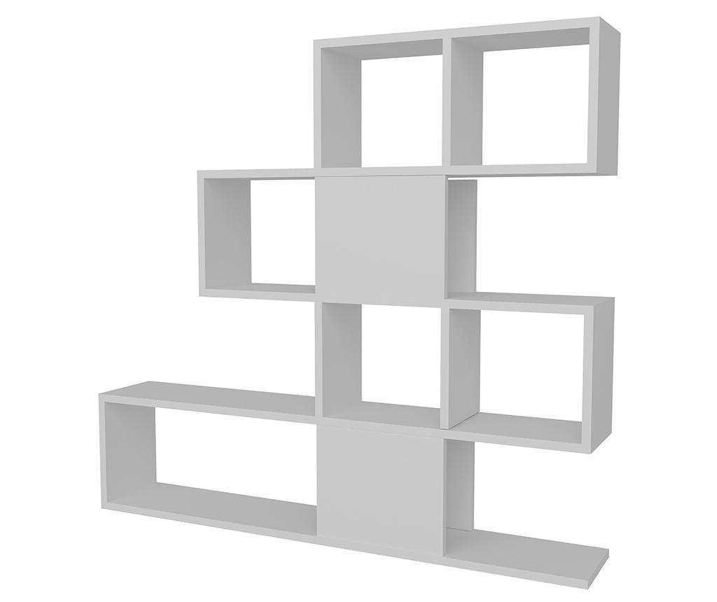 Biblioteca Karlin White - Moblert, Alb imagine