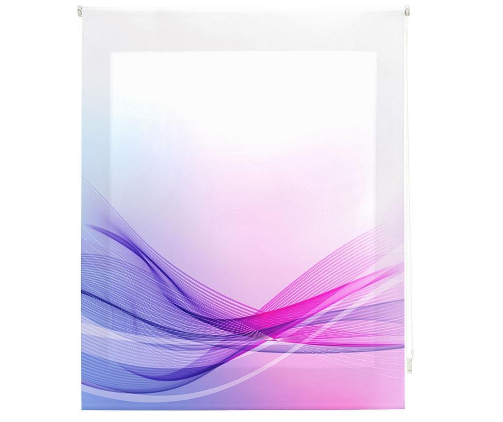 Jaluzea tip rulou Vibes 80x180 cm - Blindecor, Mov,Roz imagine