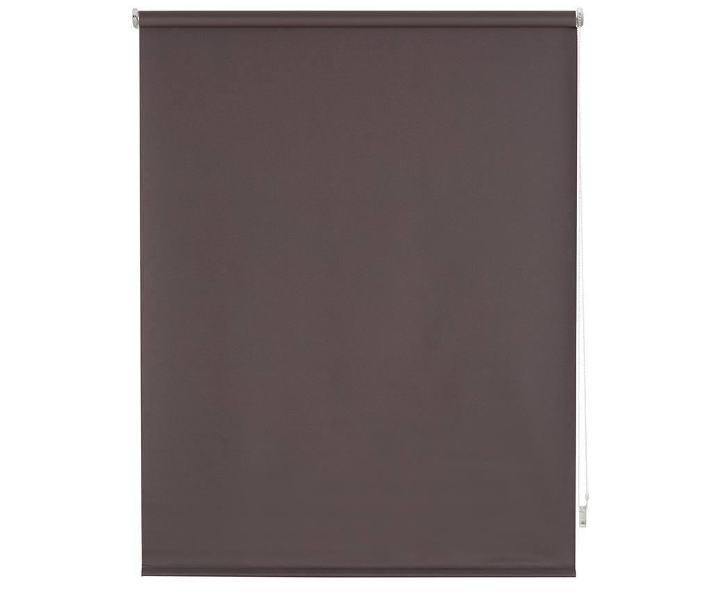 Jaluzea tip rulou Blackout Brown 120x175 cm imagine