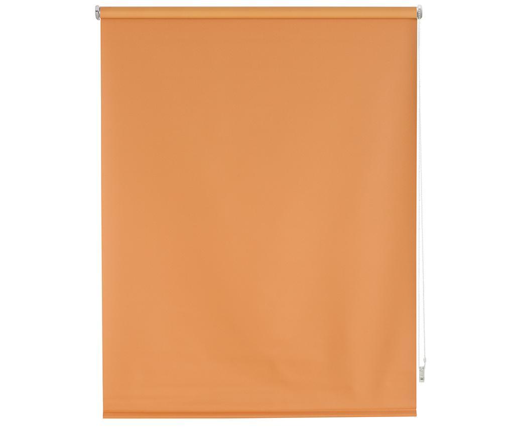 Jaluzea tip rulou Blackout Orange 140x175 cm imagine
