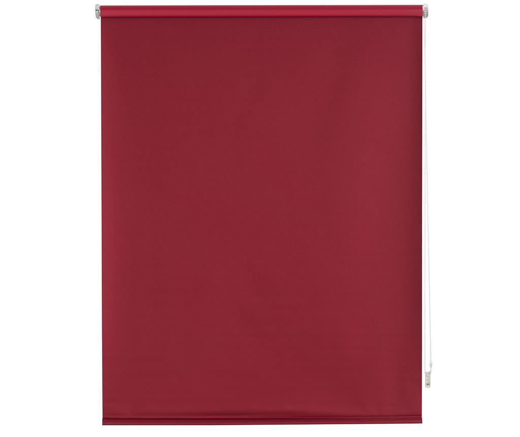 Jaluzea tip rulou Blackout Bordeaux 160x175 cm - Blindecor, Rosu imagine