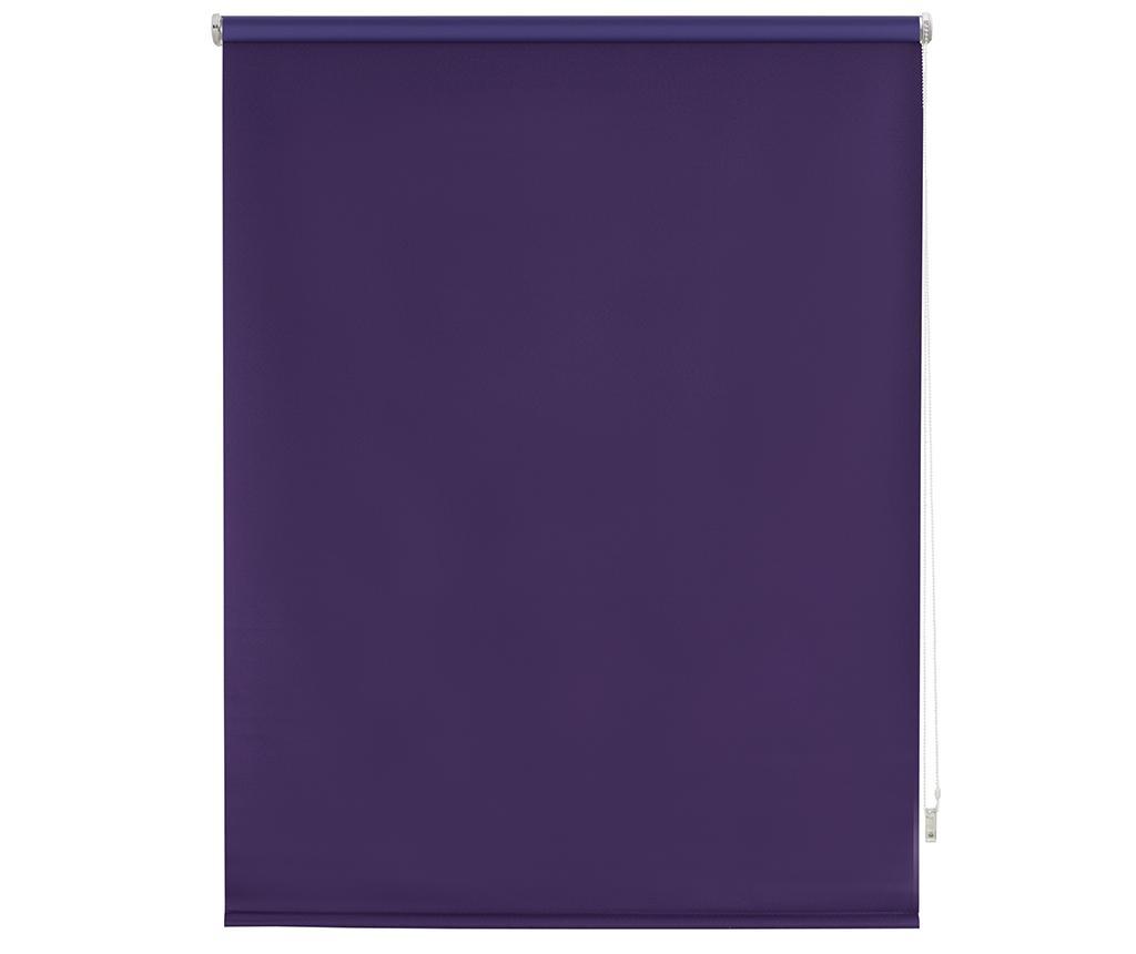 Jaluzea tip rulou Blackout Violet 140x175 cm imagine