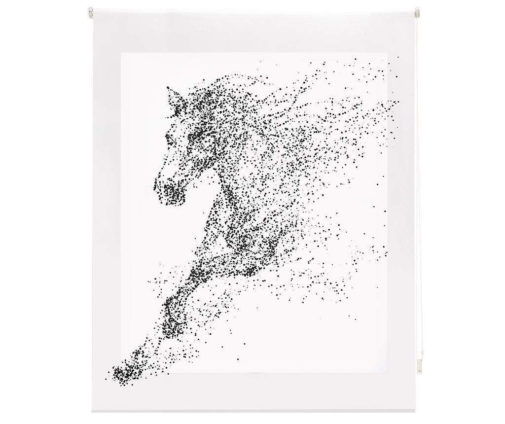 Jaluzea tip rulou Horse 80x180 cm - Blindecor, Alb imagine