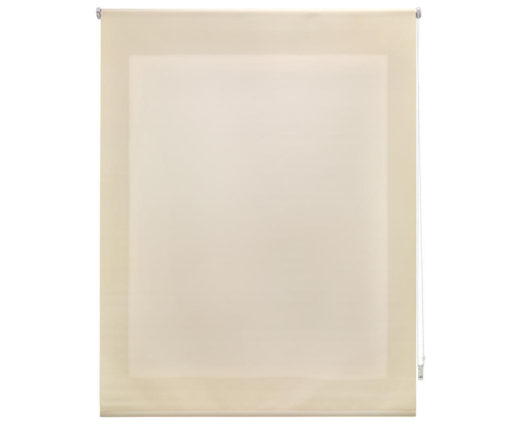 Jaluzea tip rulou Ara Beige 180x250 cm - Blindecor, Crem imagine