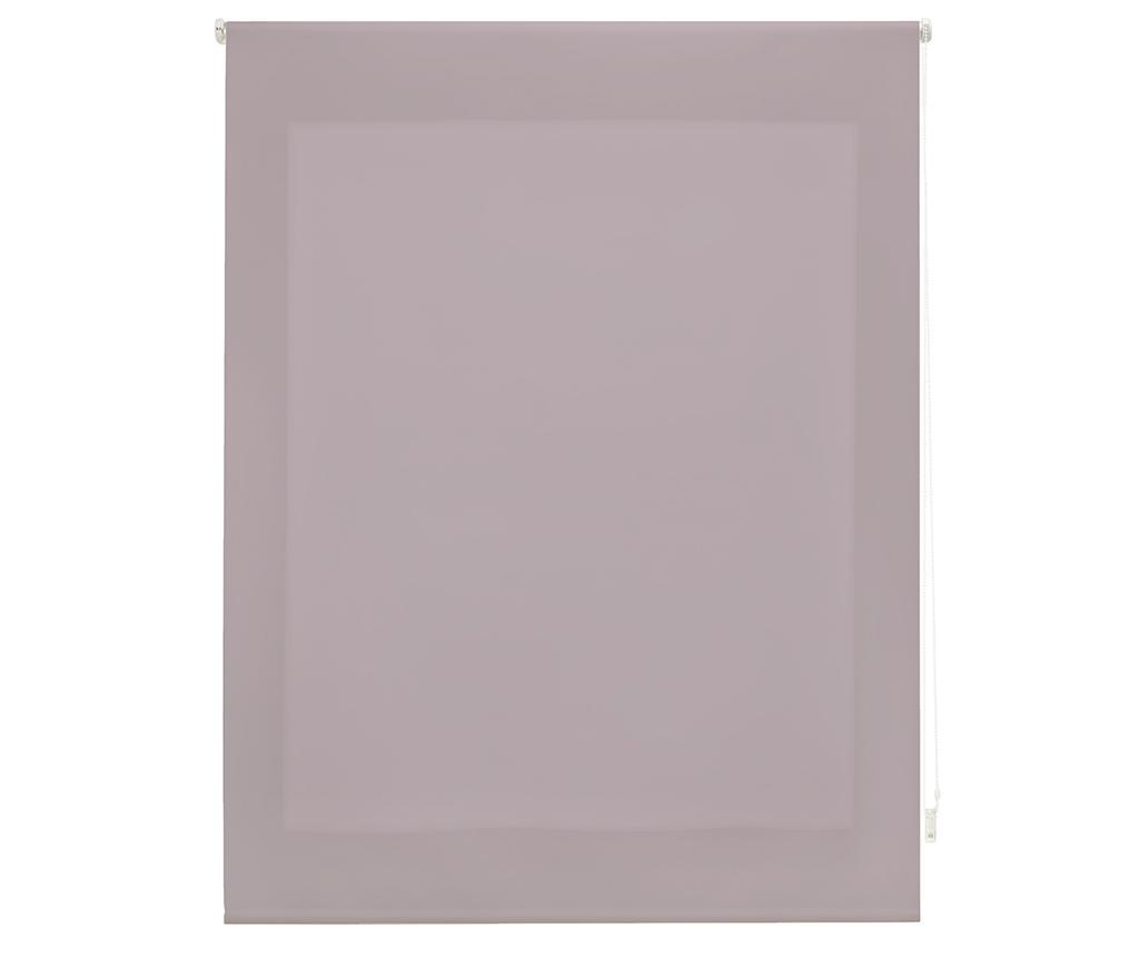 Jaluzea tip rulou Ara Mulberry Pastel 160x175 cm - Blindecor, Mov imagine