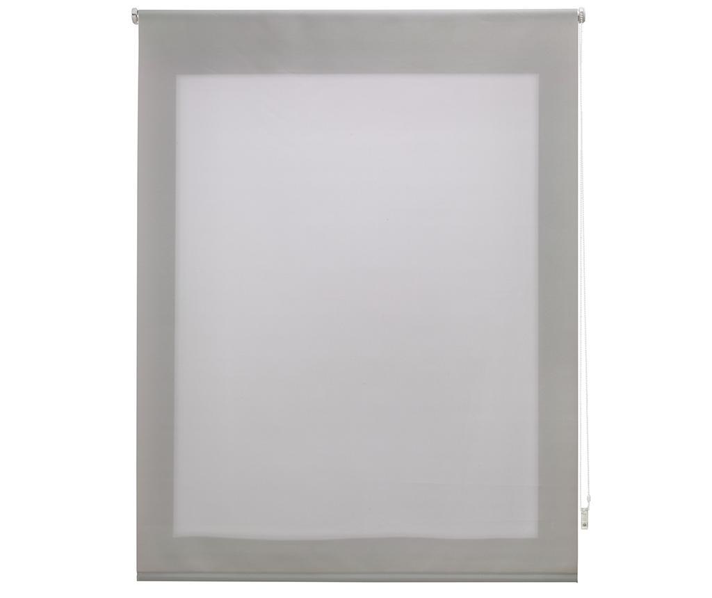 Jaluzea tip rulou Ara Silver 100x175 cm imagine