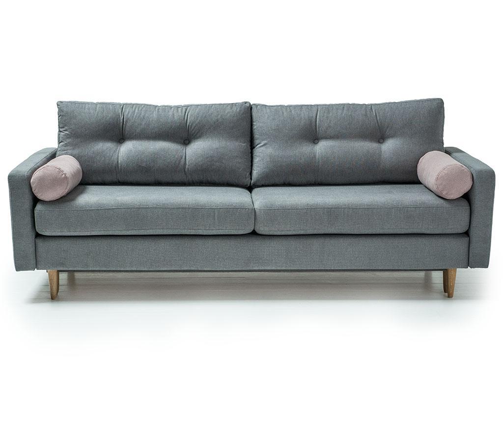 Canapea extensibila 3 locuri Pure Soro Grey vivre.ro