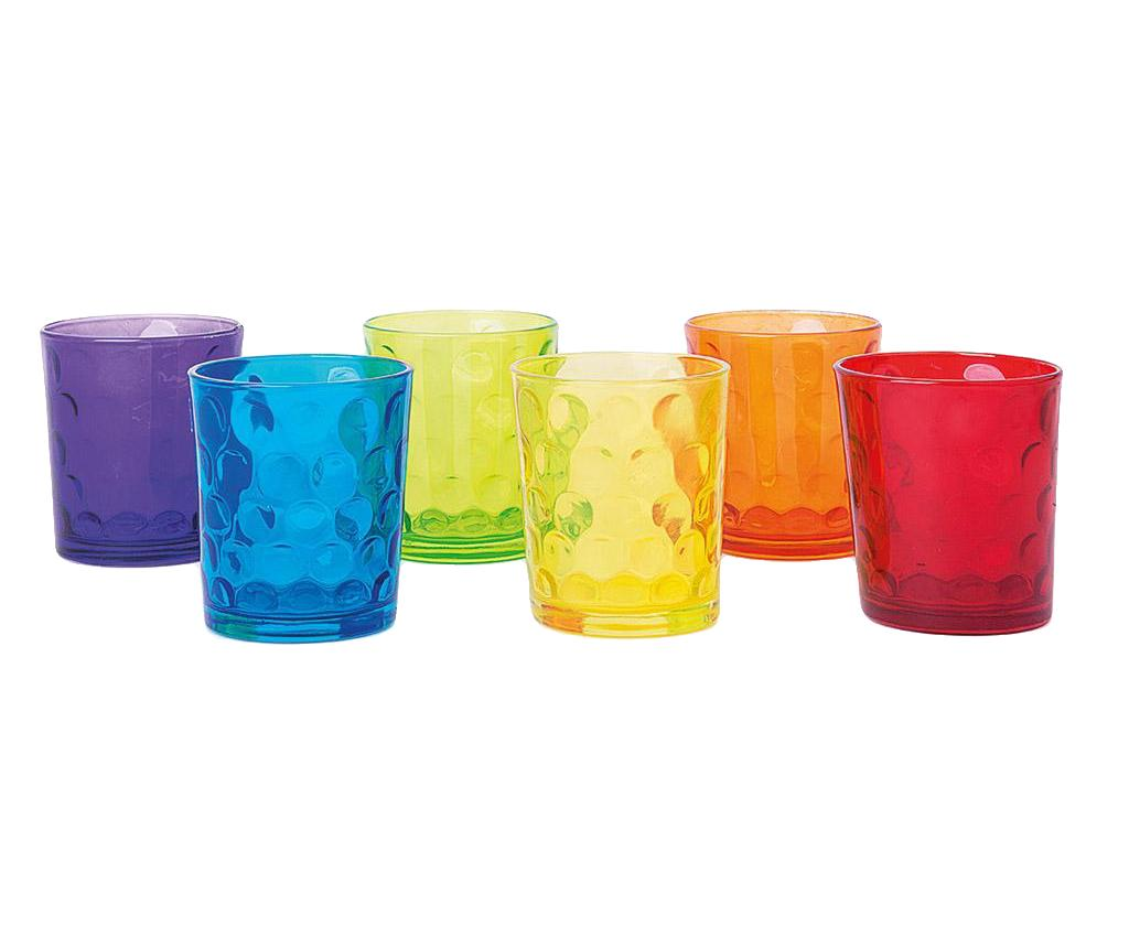 Set 6 pahare Dallas 260 ml - Excelsa, Multicolor de la Excelsa