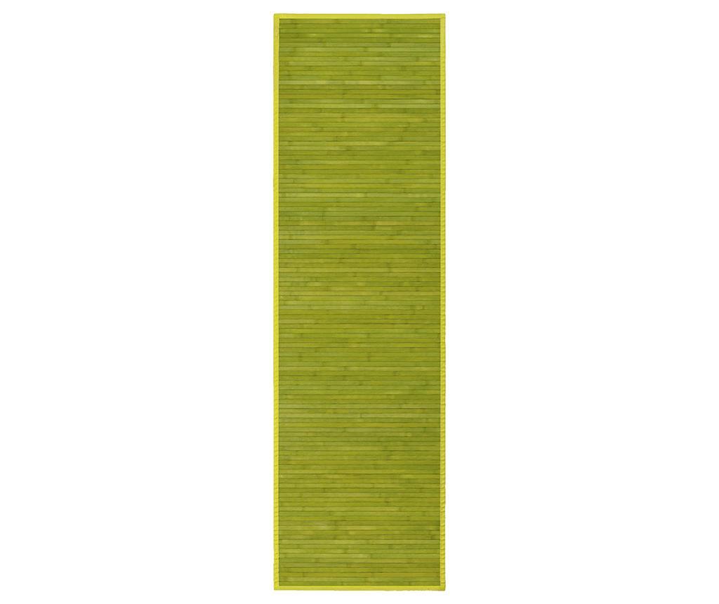 Covor tip pres Mimosa Green 60x200 cm imagine