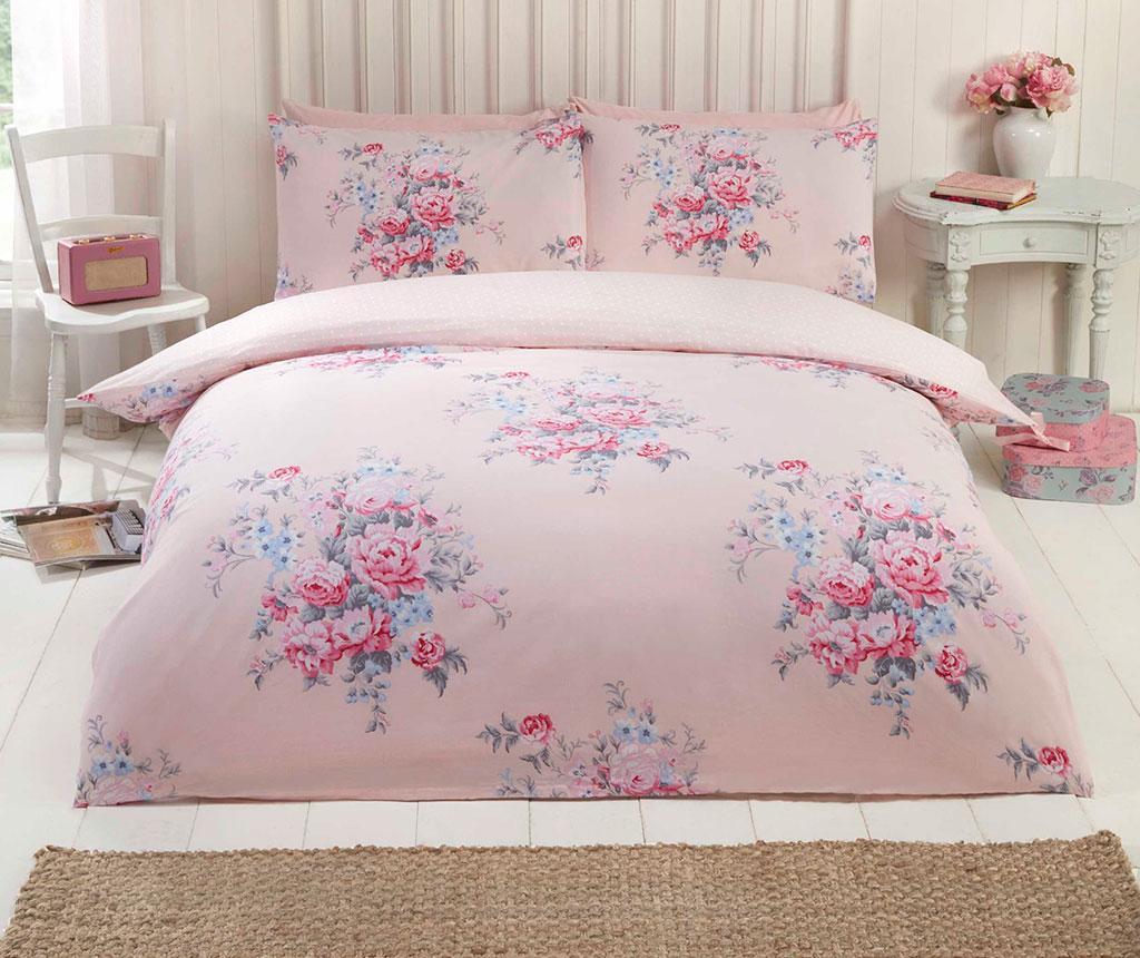 Set de pat Double Kate Blush - So Soft, Roz imagine