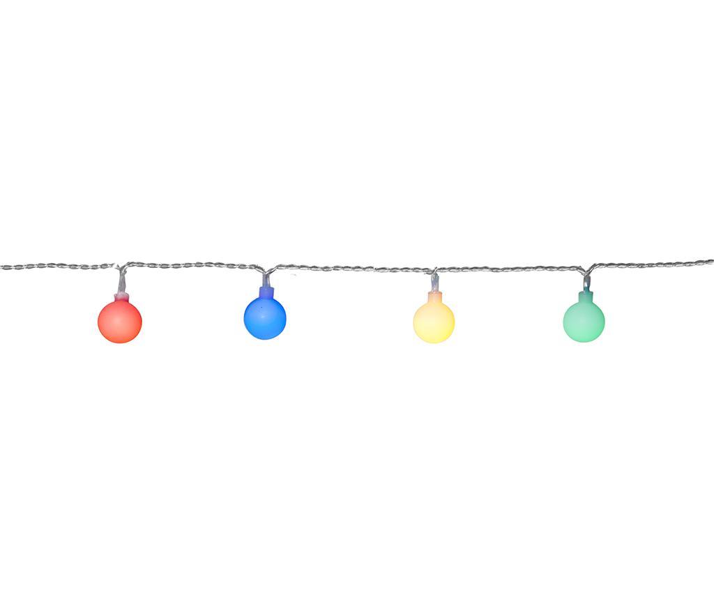 Ghirlanda luminoasa pentru exterior Berry Multicolor imagine