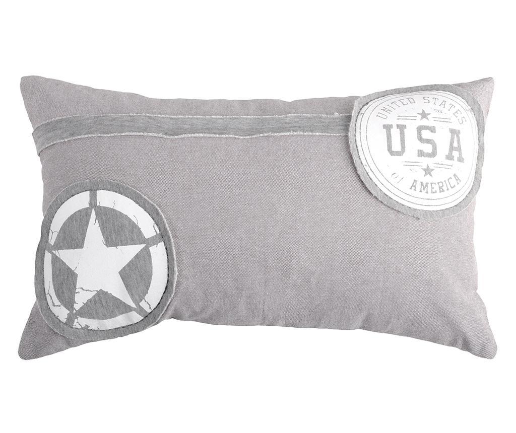 Perna decorativa USA Star 30x50 cm - Bolzonella, Multicolor poza