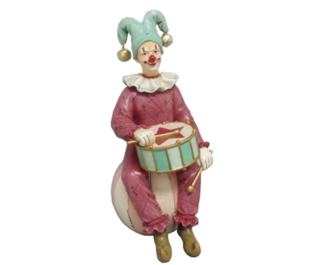 Decoratiune Clown Tonya - Bolzonella, Multicolor