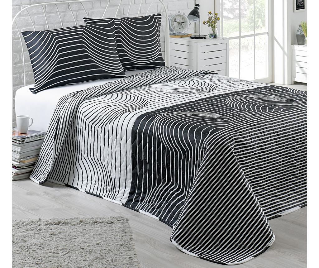Cuvertura Matlasata Hypnose Black White 200x250 Cm