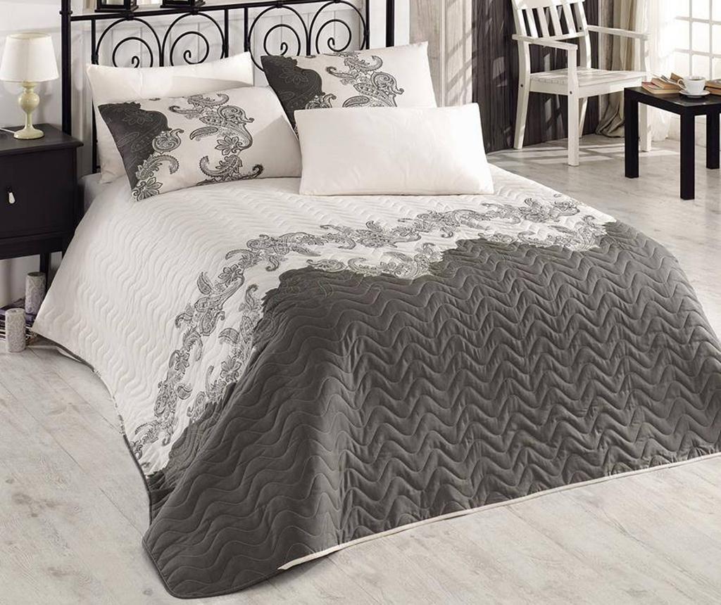 Cuvertura matlasata Mix Scarlet Beige 200x250 cm - Eponj Home, Crem imagine