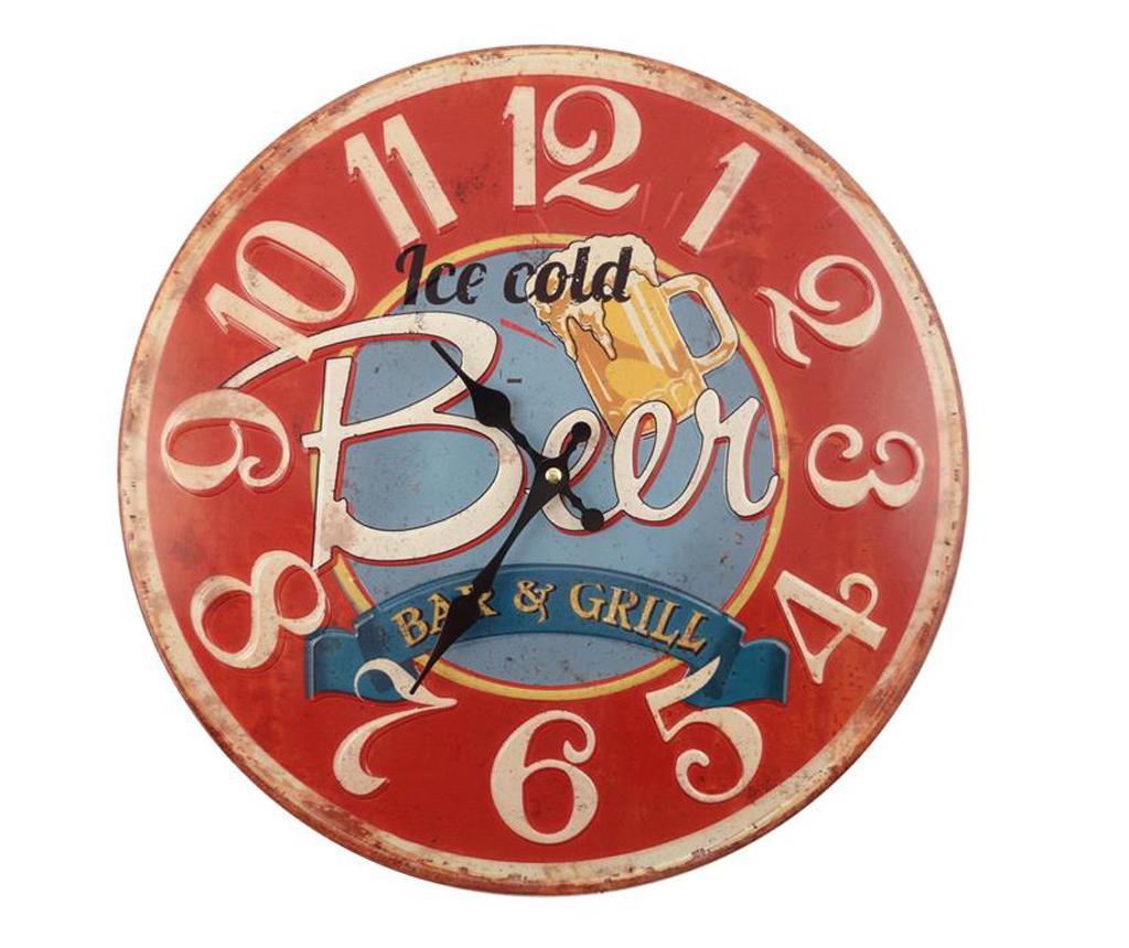 Ceas de perete Beer - Disraeli, Multicolor poza