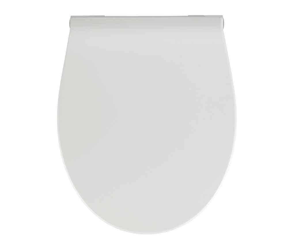 Capac pentru toaleta Premium White - Wenko, Alb poza