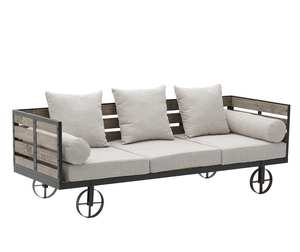 Canapea 3 locuri Cheyenne - inart imagine