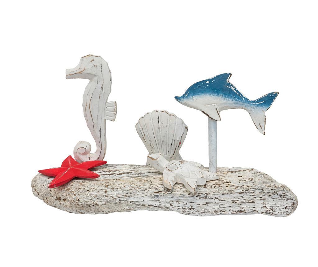 Decoratiune Sea Life - Novita Home, Alb