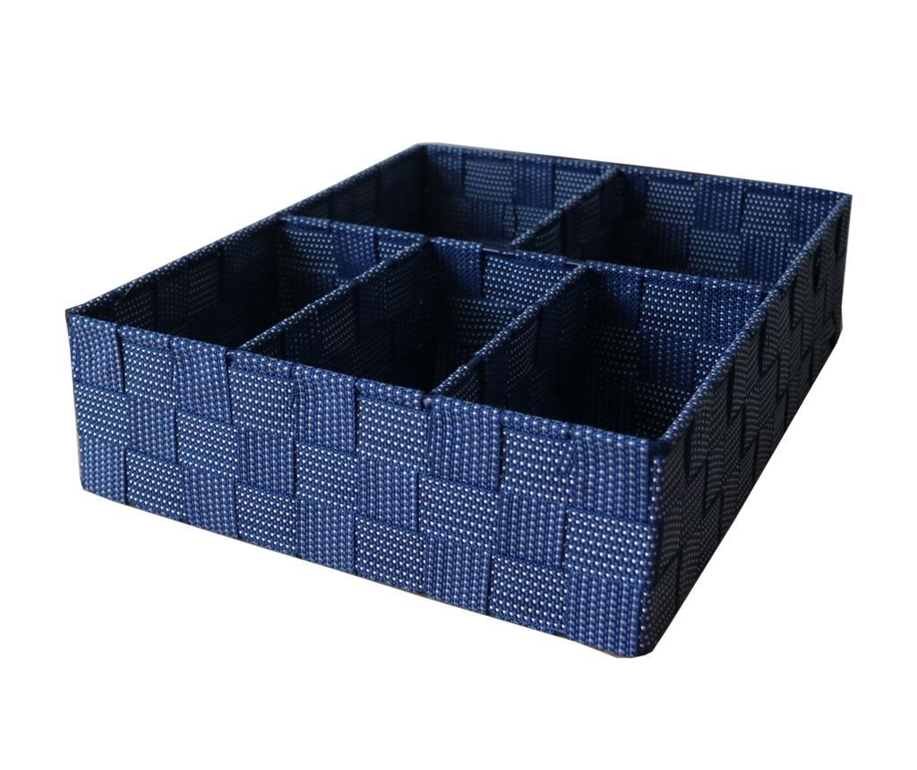 Organizator pentru sertar Spotted Five Blue Grey imagine